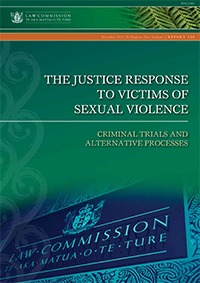 R136 The justice response to victims of sexual violence: Criminal trials and alternative processes - Cover